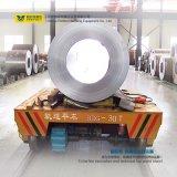 Officina siderurgica Using il carrello elettrico della bobina con il piatto di gomma