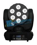 新しいデザイン7*10W RGBW 4in1多色刷りLED移動ヘッドビーム