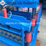 Metalldach-Fliese-Rolle, die Maschine bildet