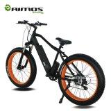 bicicleta gorda de la montaña E del neumático del motor del engranaje de 48V 1000W