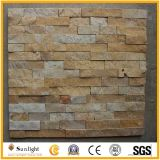 Negro / gris / verde / azul de pizarra natural / granito / cuarzo revestimiento de la pared de piedra Cultura