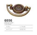 Tirón de cobre amarillo antiguo de la maneta de la cabina del tirón de la maneta 2016 (6056)