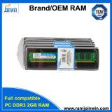 Het werk met Al Motherboards 2GB DDR3 Module van de RAM van het Geheugen