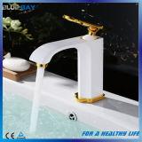 Mélangeur en laiton de taraud de bassin de bassin de traitement simple