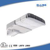 Aplicación de la carretera alumbrado público 100W de la garantía LED de 5 años