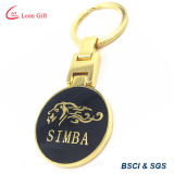 Factory Wholesale High Quality 24k Gold Key Chain