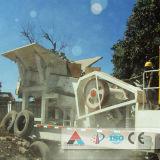 De beweegbare Verpletterende Installatie van de Kaak van de Stenen Maalmachine/de Mobiele Maalmachine van de Kaak
