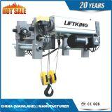 Élévateur électrique de câble métallique de type européen simple de poutre, treuil électrique de câble métallique