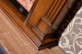 ヨーロッパの家具LEDはつけるヒーター(328B)が付いている木製の電気暖炉を