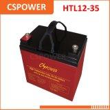 Cspower 12V 35ah力の記憶のゲル電池-電気車椅子
