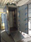 Réfrigérateur et congélateur de souffle d'acier inoxydable