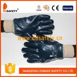 Ddsafety Baumwolle 2017 oder Jersey mit blauem Nitril-Handschuh