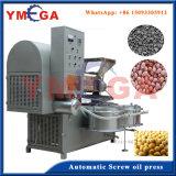 Prensa caliente y máquina fría de la extracción de petróleo del coco de la copra de la prensa