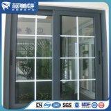 Perfil de aluminio verde de la capa 6063t5 del polvo del color para la ventana de desplazamiento