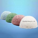 Éponge konjac organique de vente en gros konjac lavable colorée d'éponge