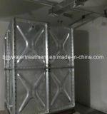 Heet-Ondergedompelde de Leverancier van China galvaniseerde de Sectionele Tank van het Water van het Comité