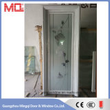 安い価格の卸し売りアルミニウム浴室のドア