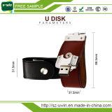 El mejor cuero de Regalo de Empresa Unidad USB de 8GB USB