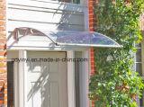 Toldo del policarbonato a medias alrededor del pabellón plegable de la cortina de la azotea de la ventana del toldo