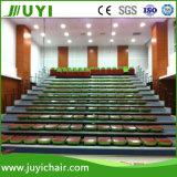 Cine telescópico de la gradería cubierta que asienta el blanqueador telescópico con la silla ergonómica Jy-765 de la tela