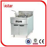 Электрический глубокий Fryer сделанный в Китае, 1 поставщике Fryer рыб корзины бака 2 коммерчески