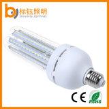 Ahorro de energía LED 24W Bombilla de maíz E27 E40 La luz interior U luz fluorescente compacto