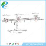 Stand de moniteur de support de compensateur de prix usine de Jeo Ys-MP230SL/support duels, bras de moniteur