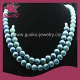 Conjunto de colar e pulseira de jóias de moda turmalina (2015 Gus-Tmn-039)