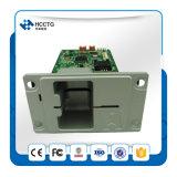 El apoyo de RFID de banda magnética y tarjeta IC Inserción manual Card Reader/Writer Hcrt288k