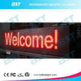 Afficheur de messages texte de déplacement de LED couleur rouge P10 (programmable)
