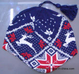 Шлем Beanie Knit POM POM зимы акриловый изготовленный на заказ