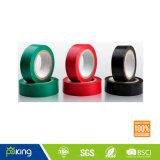 黒いカラー付着力の電気PVC電気テープ