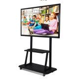 Esposizione Multitouch TV astuta della dimostrazione del prodotto di mostra con la parentesi mobile di movimento