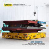 배터리 전원을 사용하는 편평한 트롤리 수레에 의하여 자동화되는 산업 포가