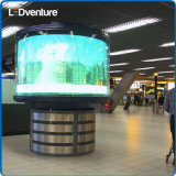 Cartelera grande a todo color de interior del LED para los media de publicidad