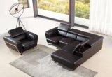 Grande sofà d'angolo per a forma di L sezionale del cuoio moderno del sofà