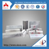 Tijolo ligado do carboneto de silicone do nitreto de silicone de 300 x de 150 x de 65 x de 55mm