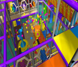 Cheer Amusement Castle Themed Kids Indoor Playground Fitness Equipment