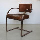 固体ステンレス鋼の会議の椅子、椅子Yh-295を食事する型のオフィスの椅子
