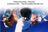 Venda seca do Ce FDA do mergulho da máscara do Snorkel da face 2017 cheia melhor em Amazon