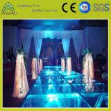 Étape légère transparente réglable en verre Tempered de performance d'intérieur extérieure