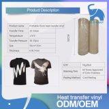 50cm * 15m vinilo de transferencia de calor Flock imprimible para prendas de vestir