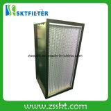 Rectángulo industrial H12 H13 H14 del filtro del aire HEPA