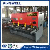 Le cisaillement de la guillotine hydraulique machine avec le meilleur prix (QC11Y-16X2500)