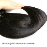 100% de cabelo peruano não processado, cabelo reto, Weave