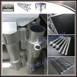 Этап алюминиевого миниого этапа крытый передвижной с поверхностью ковра