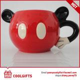 Tasse en céramique promotionnelle avec la forme de dessin animé pour le cadeau