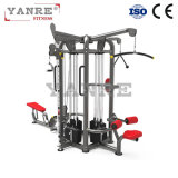 Hot Sale Combo Multi- Gym 3 Station / 6 Funções Commercial Gym Equipment / Fitness Equipment / Wholesale Sports Equipment