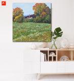 جميل ريح جدار فنية منظر طبيعيّ نوع خيش طبعة