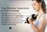 Fone de ouvido portátil de Bluetooth da em-Orelha da alta qualidade V4.2 mini